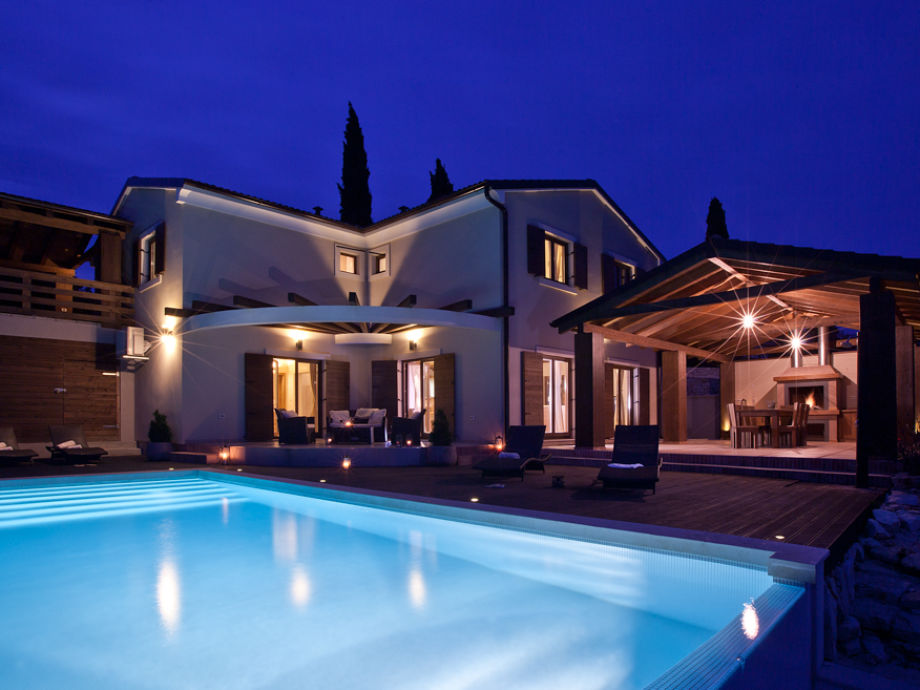 Geschmackvoll eingerichtete Villa Dali