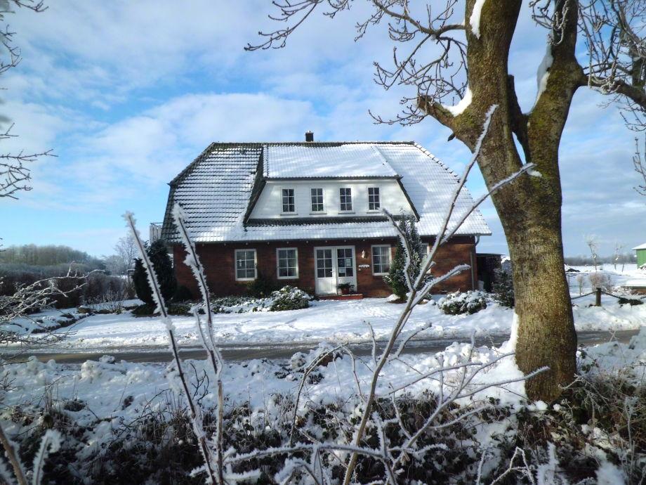 Ferienhaus Eckeberg im Winter
