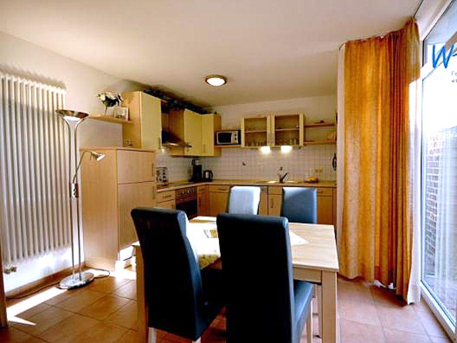 Die helle Wohnküche