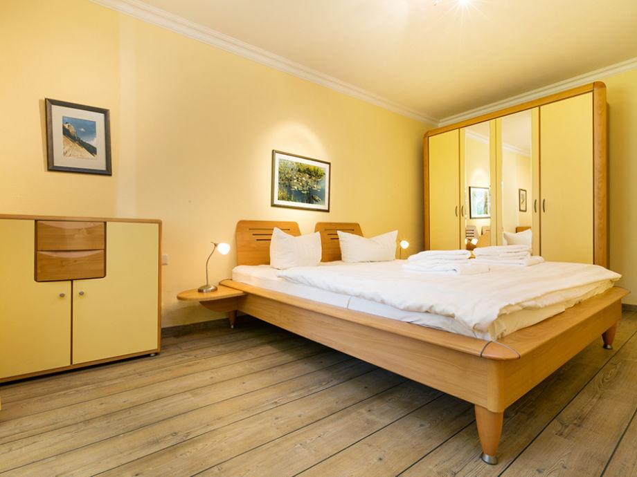 Das schöne Schlafzimmer.