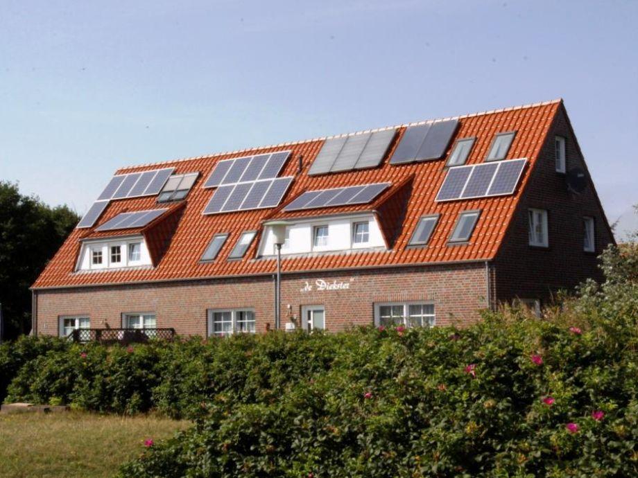 Ausgestattet mit Photovoltaik