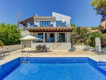 Sea View holiday house in Santa Ponsa ID 2550