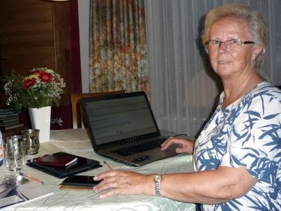 Ihr Gastgeber Helga Vick