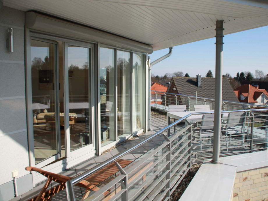Sehr sonnige Dachterrasse - ca. 40 m²
