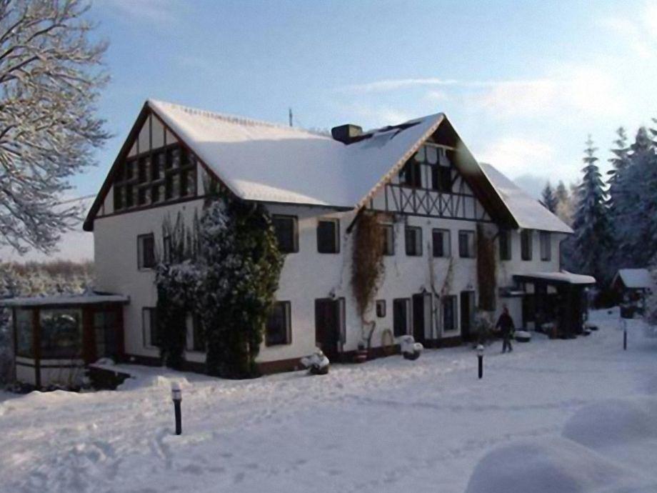 Haus Wackerberg im Winter