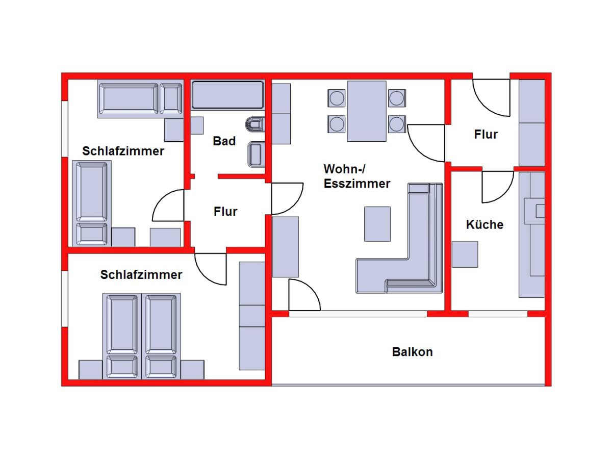 ferienwohnung haus strandnixe app 302 nordseek ste cuxhaven kurgebiet d se familie martin. Black Bedroom Furniture Sets. Home Design Ideas