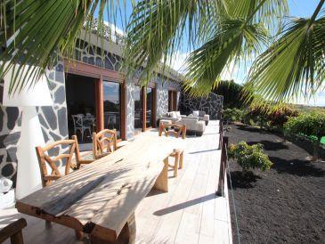 Ferienhaus Robinson oberhalb Playa San Juan