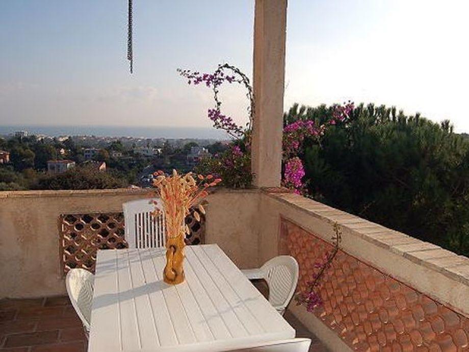 Balkon mit herrlichem Ausblick