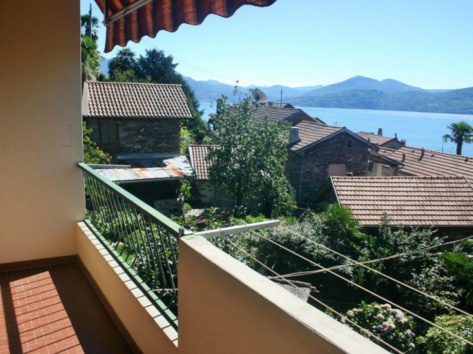 Schöner Seeblick auf den Lago Maggiore