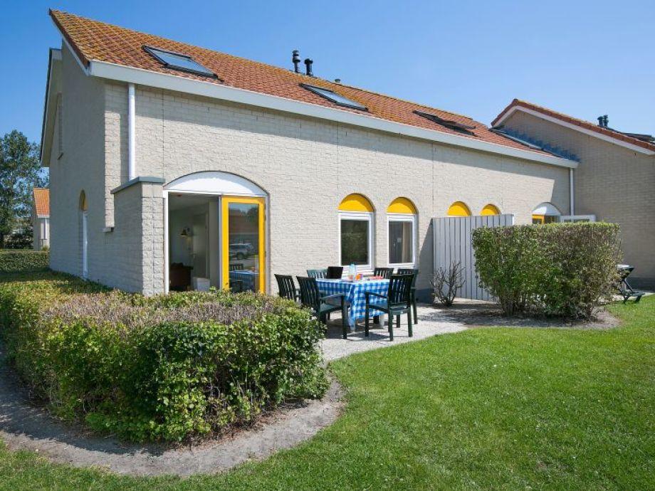 Terrasse - Ferienhaus Kokkel
