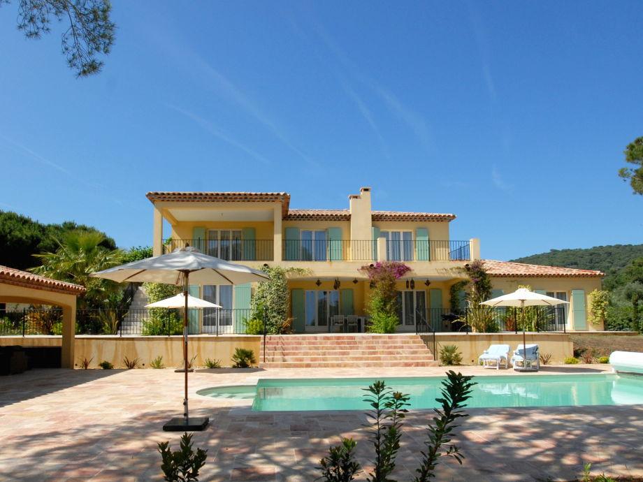 Pool & Villa LACROI-020: La Croix Valmer