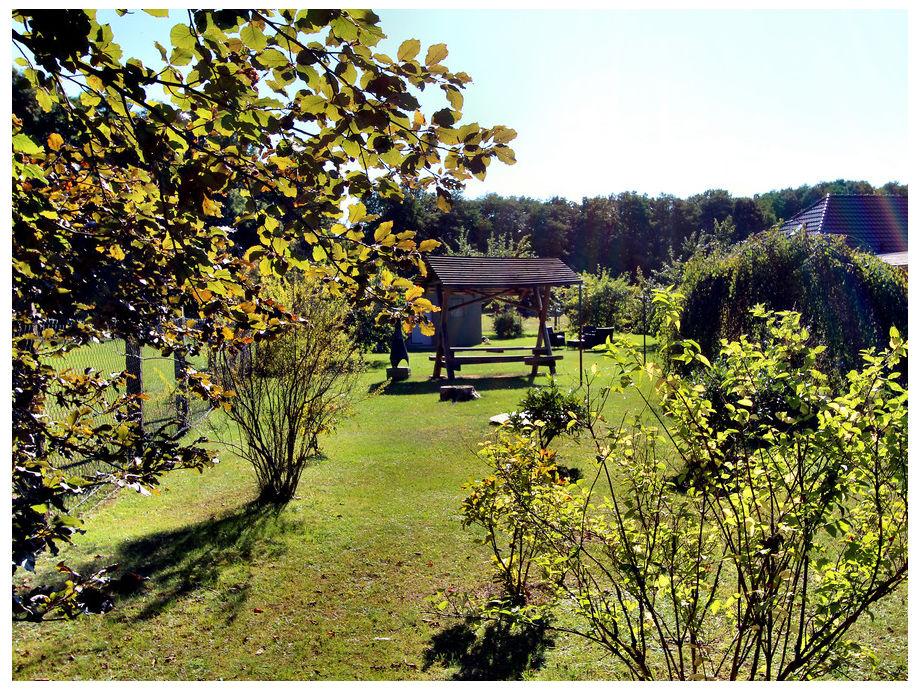 1000 m² Garten mit unverbaubarer Aussicht