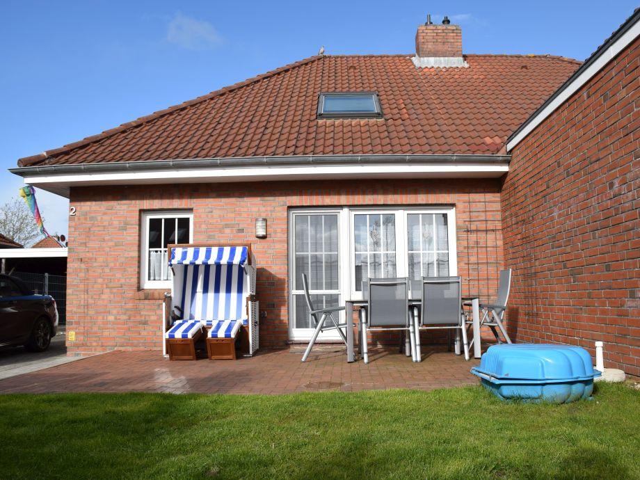 Ferienhaus STELLA - Doppelhaushälfte - Terrasse