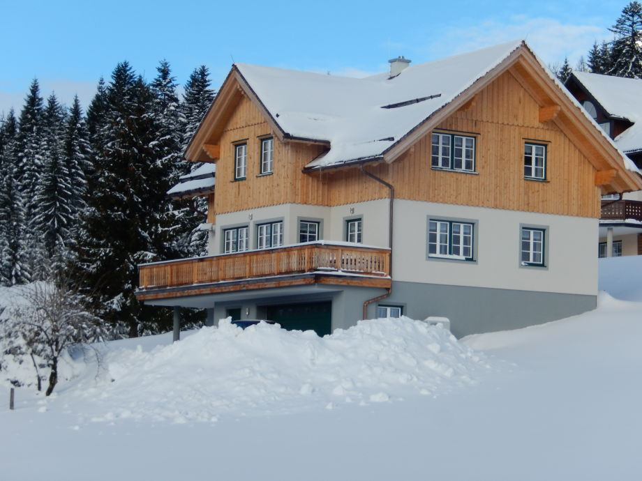 Country house in the winter