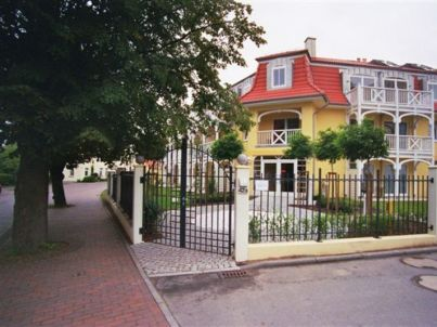 im Appartmenthaus Ostseestrand