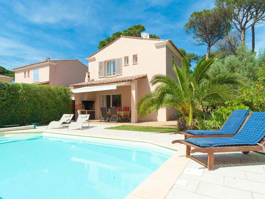 Ferienhaus mit Pool und strandnah in les Issambres