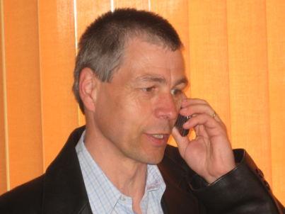 Ihr Gastgeber Ralf Saß, Fr. Madeja