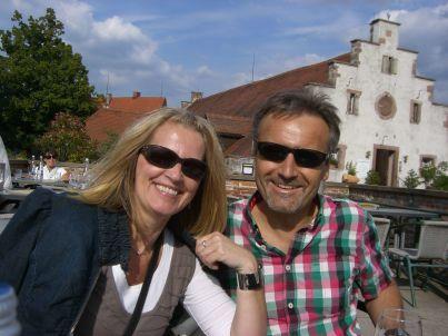 Ihr Gastgeber Waltraud und Günter Helmreich
