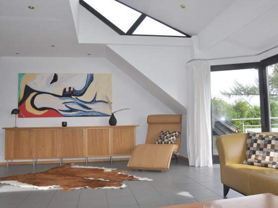 ferienwohnung sch ner wohnen mit kamin ruhrgebiet witten. Black Bedroom Furniture Sets. Home Design Ideas