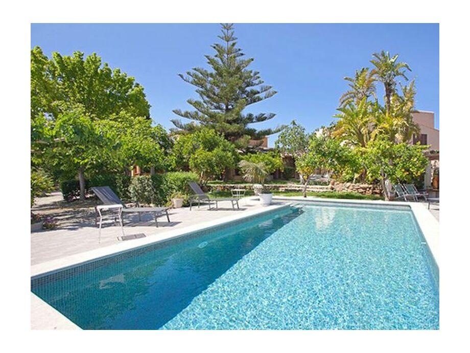 Villa mit Pool zur Miete in Alcudia