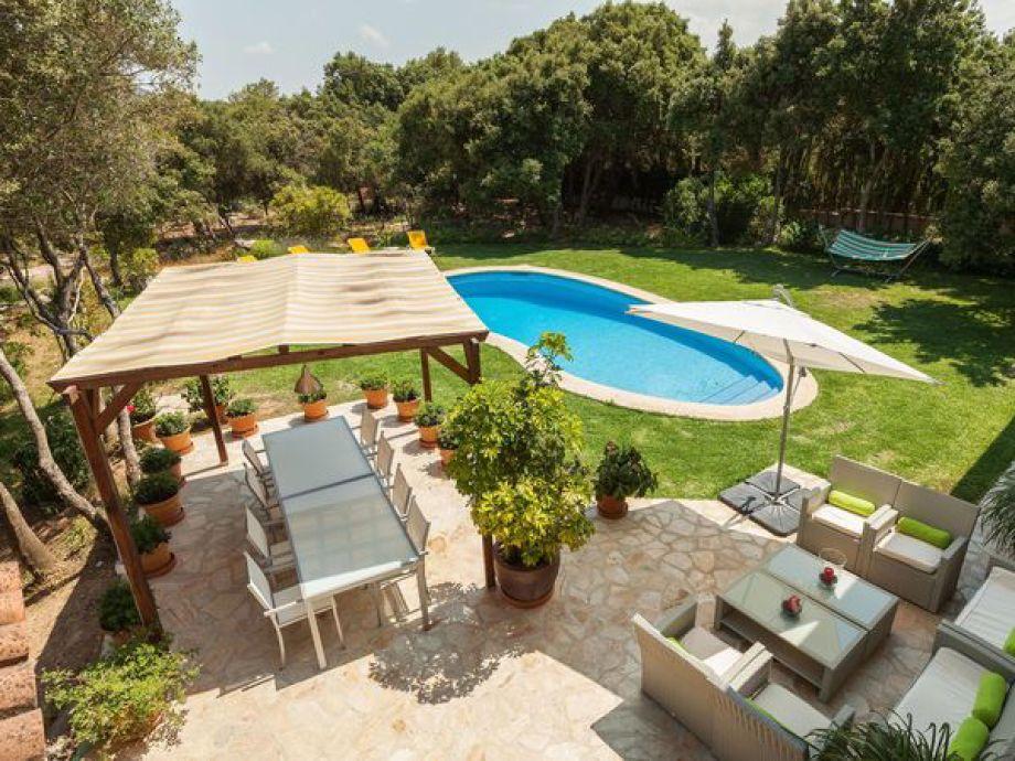 Terrasse, Veranda und Pool