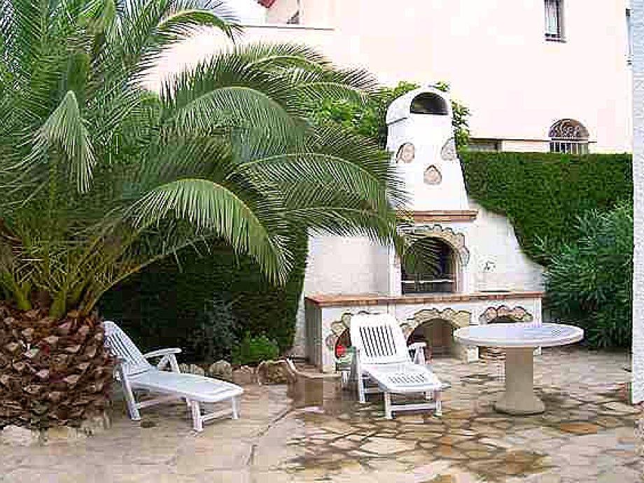 villa pino alto mit privatem pool costa dorada miami playa frau i m klink. Black Bedroom Furniture Sets. Home Design Ideas