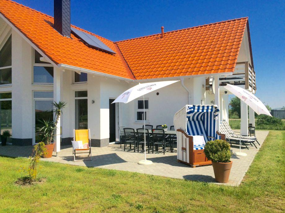 """Villa """"Rügen"""" mit Terrasse - Südseite"""