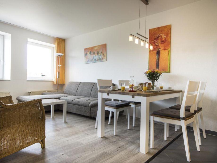 2-Raum Ferienwohnung mit Seesicht für 4 Personen