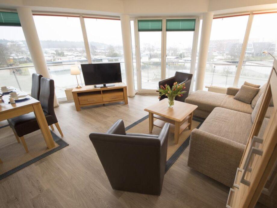 Große Ferienwohnung für 6 Personen mit Seesicht