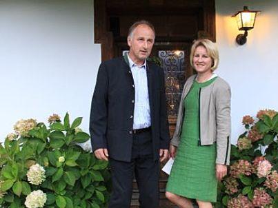 Ihr Gastgeber Markus und Notburga Hofberger