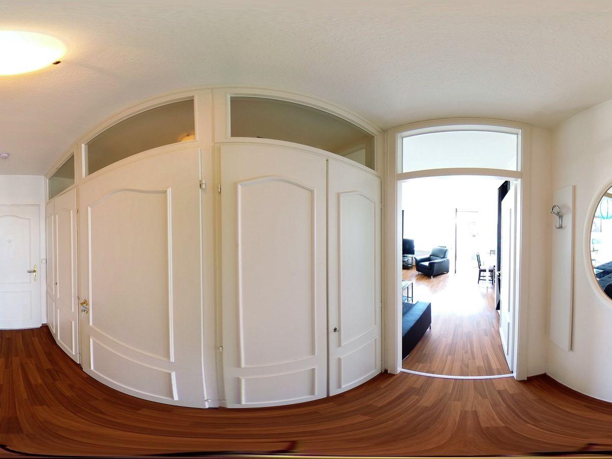 Ferienwohnung 140 in terrassenh gel mit teilseeblick - Panoramabild schlafzimmer ...