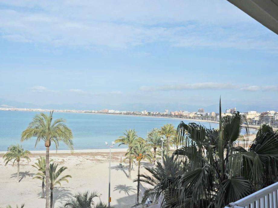 Blick vom Balkon/Terrasse