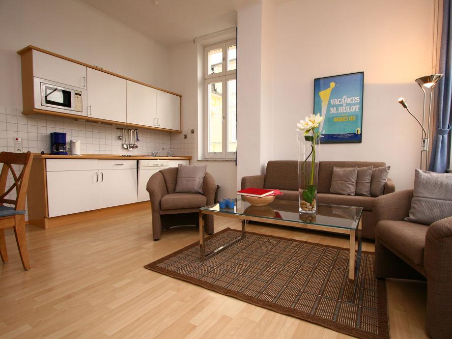ferienwohnung 7 in der villa to hus usedom ostsee. Black Bedroom Furniture Sets. Home Design Ideas