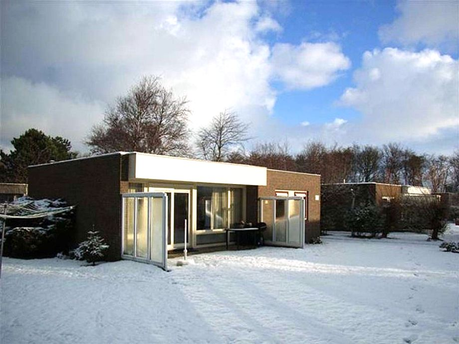 Ferienbungalow Kogermient im Winter
