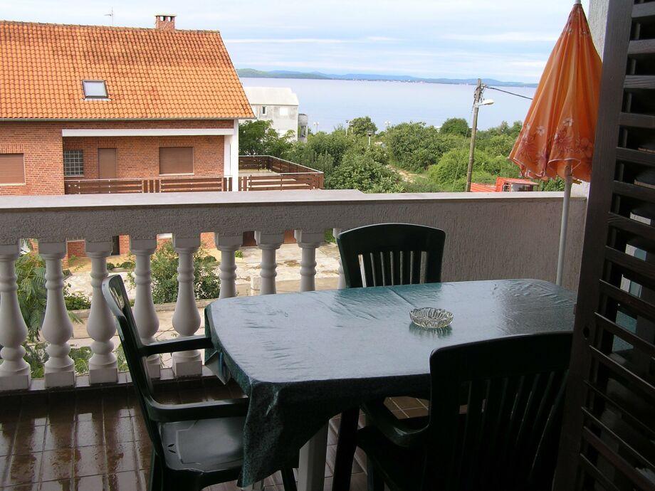 Balkon mit Meersblick