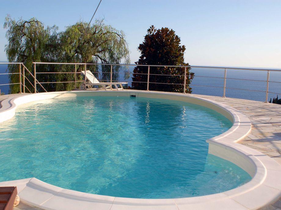 Eine bestechende Aussicht auf das Mittelmeer