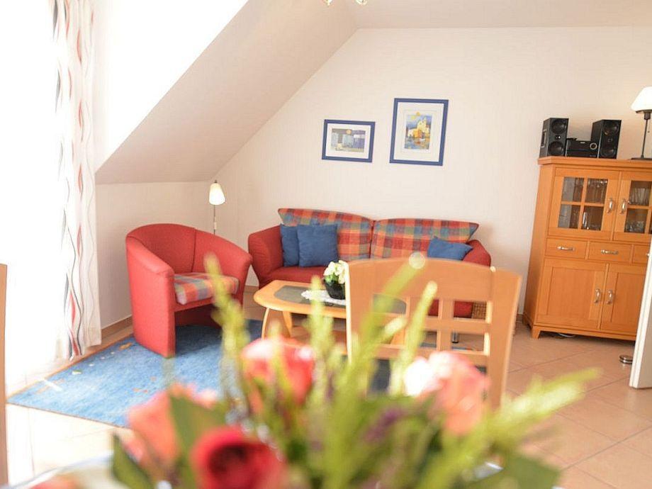 Wohnzimmer mit W-lan inkl.+Südbalkon