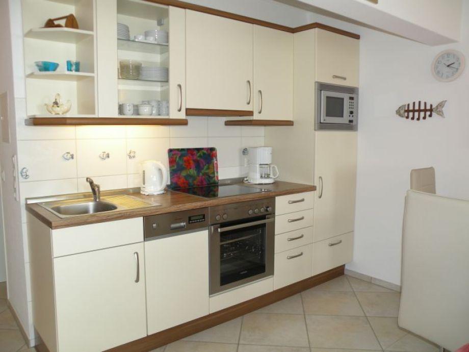 Küchenzeile Im Wohnraum ~ ferienwohnung am sahlenburger strand as10, cuxhaven