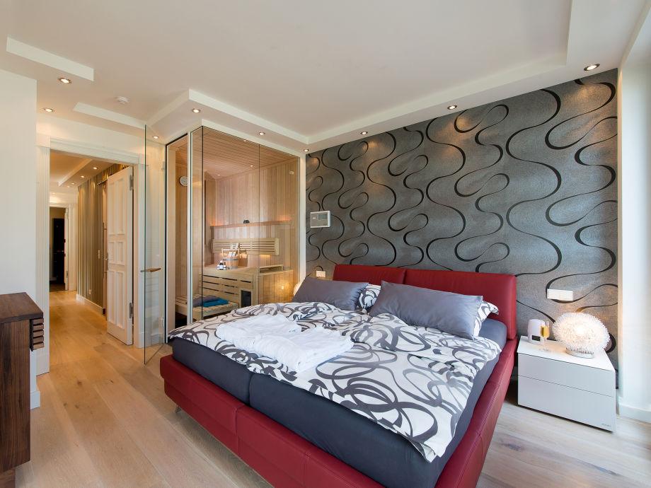 Schlafzimmer 2 Mit Klafs Sauna/Dampfbad