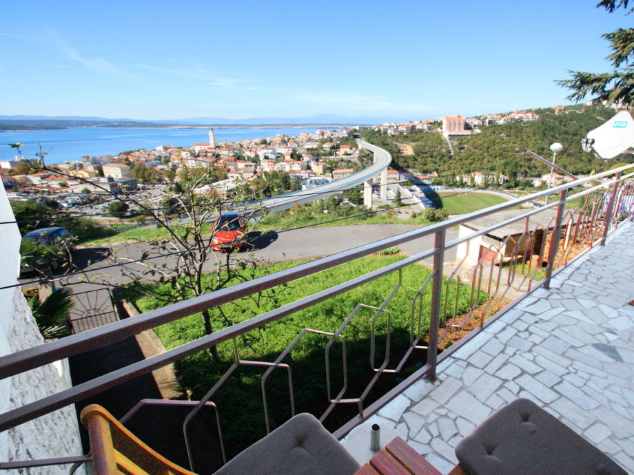 Balkon mit wunderschönem Meerblick