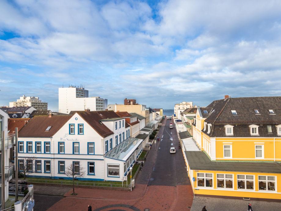 Blick über die Dächer von Norderney