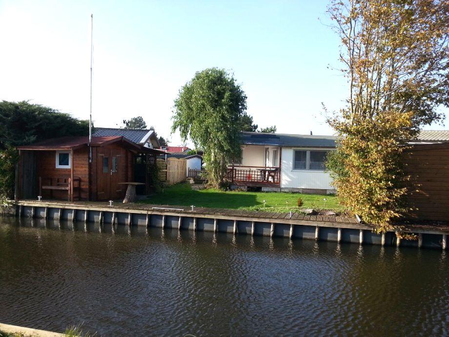 Ansicht Wasserseite / Bootsanleger