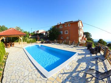 Ferienwohnung Šcerbe mit Meerblick