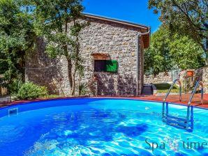 Ferienhaus mit Pool - Mia