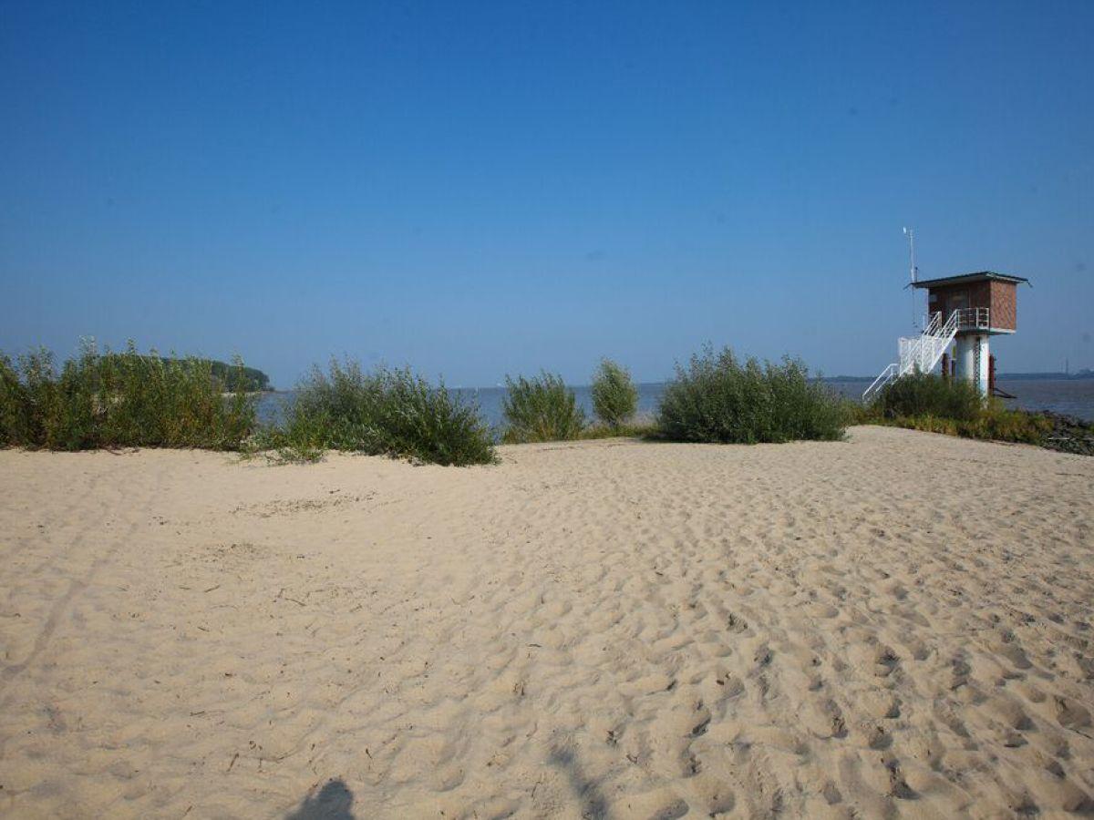Ferienwohnung Elbstrand Resort Krautsand Deck 1