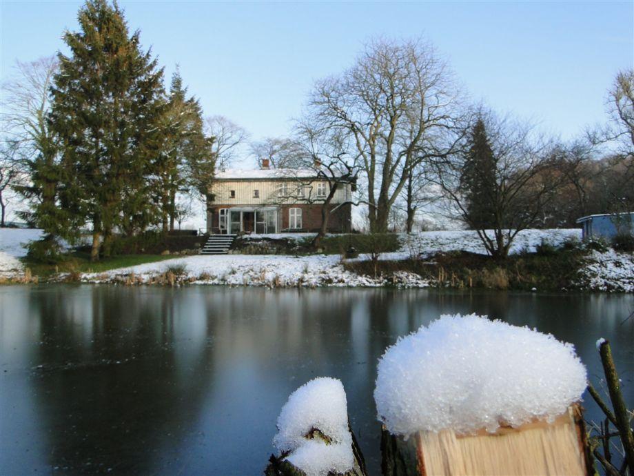 Die Wassermühle im Winter... traumhaft schöne Natur