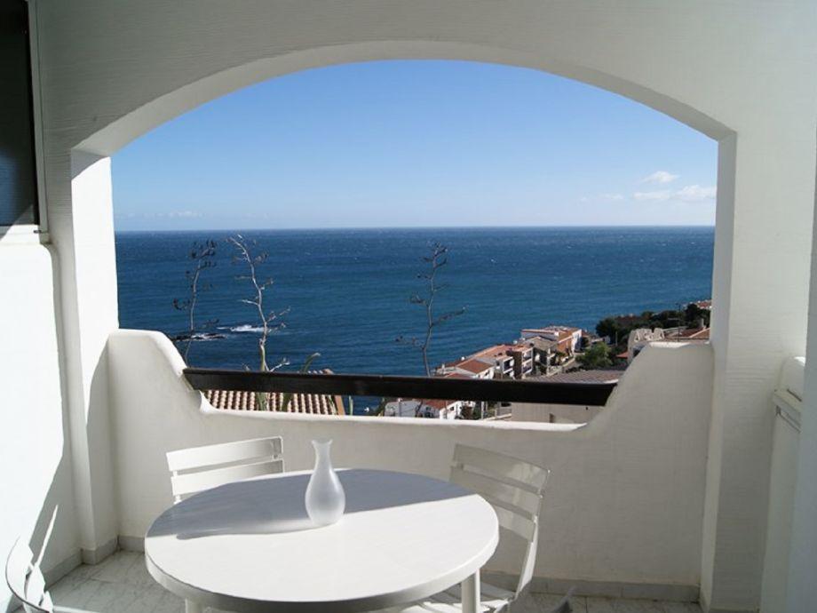 Terrasse mit schönem Meeresblick