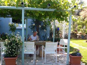 Ferienwohnung - Das blaue Haus - Hortensie