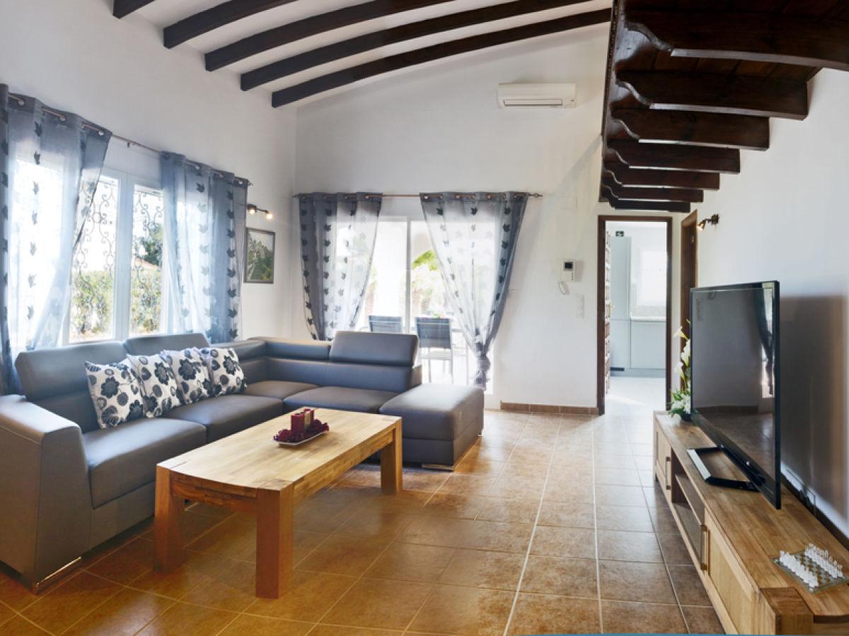 Ferienhaus villa pastor spanien costa blanca denia frau petra pieroth pickel - Warmer bodenbelag wohnzimmer ...