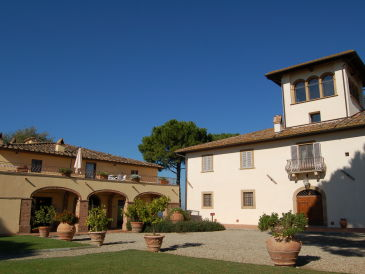 Weingut Tenuta di Sticciano - 2-Zi.-Ferienwohnung mit Pool